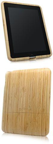 More bamboo ipad case $27.95