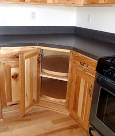 Lazy Susan For Corner Kitchen Cabinet espresso maple rta cabinet lazy susan corner cabinet w/ lazy susan