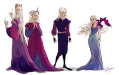the Targaryens by bevsi