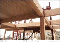 Bullit center heavy timber framing