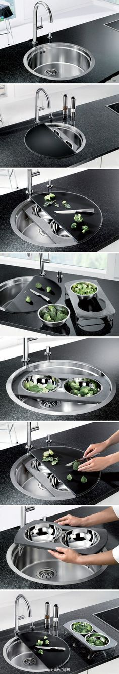 I don't find this very hygienic as a multiuse kitchen sink, but would be good as a second sink that is only for this kind of purpose