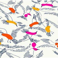 Birds Birds - Pattern designed by Emily Isabella