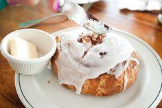 OMG... Cinnamon buns from Maui!