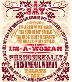 "International Women's Day - ""Phenomenal Woman"" a poem by Maya Angelou (video and videoscript) Phenomenal Woman Maya Angelou, Women Empowerment Quotes, Happy International Women's Day, Typography Poster, Quotable Quotes, Just In Case, Thoughts, Favorite Quotes, Favorite Things"