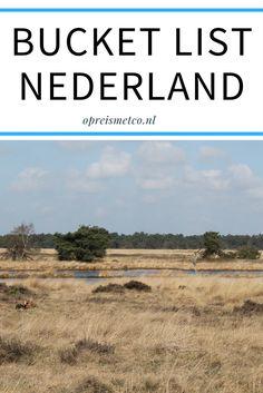 Soms vergeet ik wel eens hoe mooi Nederland is. Tijd voor verandering, ik ga vaker op pad in eigen land! Daarom deze blog: mijn bucket list Nederland. Met veel lekker Hollandse plaatjes.