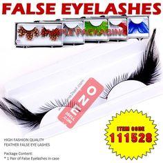 Black Corner Feather False Eyelashes . Fake Eye Lashes Extension  #eyelash #eyelashes #falseeyelashes @one2sell