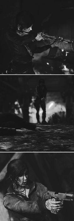 Lara Croft: I'll make them pay. #tombraider