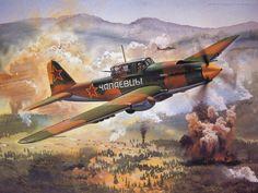Geschilderde vliegtuigen - achtergronden: http://wallpapic.nl/luchtvaart/geschilderde-vliegtuigen/wallpaper-5456