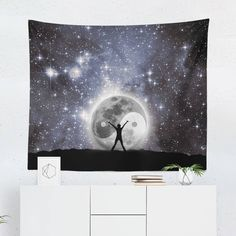 Searching for a Yin & Yang Tapestry? Shop for high quality Wall Tapestries designed by independent artists on W. Tapestry Design, Wall Tapestry, Cool Tapestries, Yin Yang, A Team, Vivid Colors, Hand Sewing, Oriental, Just For You