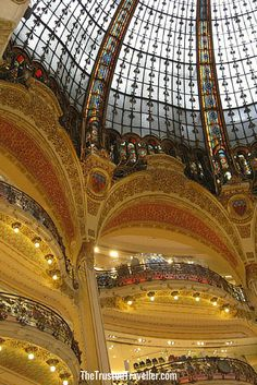 Galeries Lafayette - 30 Things to Do in Paris - The Trusted Traveller