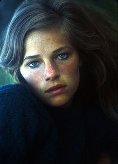 Charlotte Rampling photographed by Jerry Schatzberg