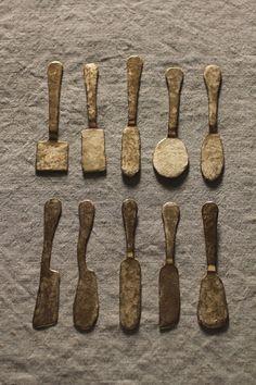 Spoon Art, Door Pull Handles, Wood Carving, Objects, Tools, Tableware, Metal, Glass, Cutlery