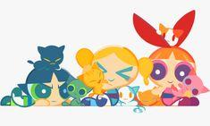 The Powerpuff Girls - Buttercup, Bubbles, and Blossom Geeks, Super Nana, Powerpuff Girls Wallpaper, Ppg And Rrb, Old Cartoons, Fan Art, Cartoon Shows, Power Girl, Girl Wallpaper