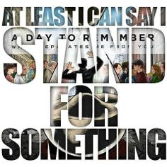 A Day To Remember - All Signs Point to Lauderdale #lyrics #ADTR #whatseparates mefromyou