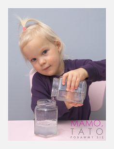 10-eksperymentow-dla-dzieci-ukryty-kolor Kids And Parenting, Activities For Kids, Diy And Crafts, Preschool, Water Bottle, Education, Sport, Easy Crafts, Deporte