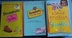 Lot of 3 Sophie Kinsella Bestsellers - Shopaholic Hilarious Reading Books #shopping #shopaholic #reading #books