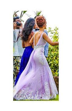Celebrity bridesmaid hair - Rihanna