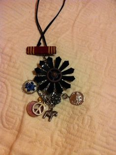 """I made this in a """"found object"""" jewelry class"""