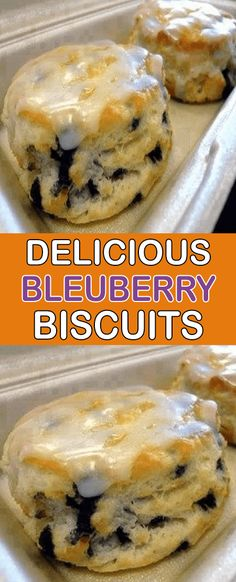 Delicious Blueberry Biscuits – My Recipes Biscuit Bread, Breakfast Biscuits, Biscuit Recipe, Breakfast Recipes, Brunch Recipes, Breakfast Items, Breakfast Dishes, Blueberry Biscuits, Vegan Biscuits