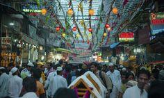 #crowd #old Delhi #chandni chowk #people  #india
