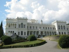 Livadia Palace in the Crimea- the summer holiday house of the Romanov's