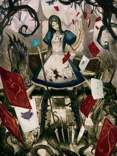Alice Madness Returns, Illustration by Masateru