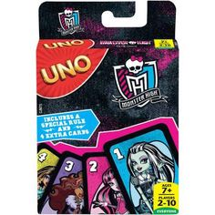 UNO Monster High Game