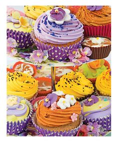 Love this Cupcakes 350-Piece Puzzle on #zulily! #zulilyfinds