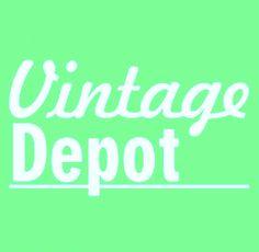 vintage depot logo, vintage styling, accessoires und designklassiker