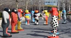 Jun Kaneko Sculptor | Jun Kaneko's sculptures in Chicago's Millennium Park