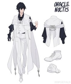 Final fantasy 15 if Noct and Luna swapped positions. I'd love to see Luna as the badass swordswoman and Noct as the graceful prince. Fantasy Characters, Anime Characters, Character Concept, Character Art, Arte Final Fantasy, Art Reference Poses, Character Design References, Anime Outfits, Character Design Inspiration