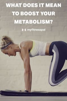 """If you're trying to lose weight, you've probably come across foods and supplements that claim to """"boost your metabolism."""" There are a number of ways you can manipulate your diet and exercise to speed your metabolism for weight loss. Try these diet tips and tricks, employ these weight-loss strategies consistently, you'll see even greater effects in speeding up your metabolism and improving gut-health and healthy digestion. #myfitnesspal #metabolism"""