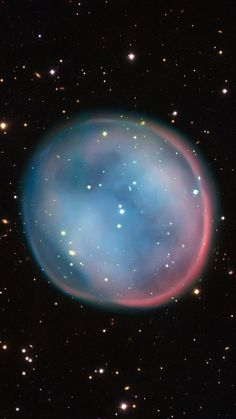 Southern Owl Nebula:   a planetary nebula located in the constellation Hydra. The European Southern Observatory's (ESO) Very Large Telescope in Chile captured this image of the cosmic object.