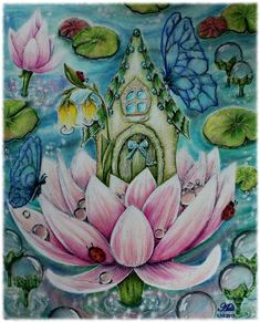 "100 Likes, 4 Comments - Vladislava Schafferhans (Adi) (@adi_schaff) on Instagram: ""#karolinakubikowska #art #drawing #coloringbook #draw #coloring #pencil #color #colors…"""