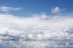 cloudy sky by Iuliia Malivanchuk #IuliiaMalivanchukFineArtPhotography #ArtForHome #FineArtPrints #HomeDecor #sky #clouds #clearsky #blue