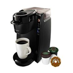 I want one of these so bad but they are still expensive. Single Serve Brewer with 24 oz. Water Reservoir