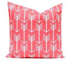 coral euro shams coral pillow covers decorative throw pillow covers 24 x 24 coral sofa pillow coral chevron pillow coral cushion
