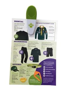 Cubs Magnetic Clip, only by Scout Shops - 100% profits returned to UK Scouting