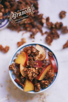 Healthy granola recipe   ricetta di muesli   دستور گرانولا   by Lab Noon