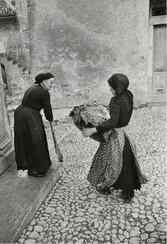 Henri Cartier-Bresson     Scanno, Italy      1951
