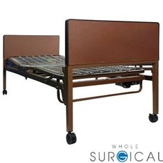 Professional Medical Imports - HB1CBPKG - Dual Motor Semi Competitive Bed Package For Hb1 Bed