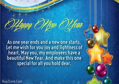 CEO New Year Messages for Employees