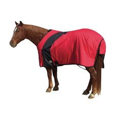 Exselle Prima Blanket-Red with Black Larger Sizes
