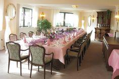 Ob Hochzeit, Kommunion, Taufe oder Geburtstag: Das Hotel zum Walde in Stolberg sorgt für den festlichen Rahmen