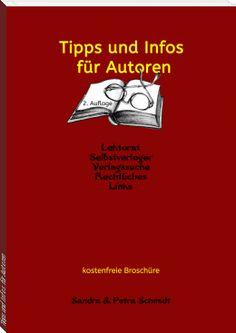 kostenfreies eBook, 2. Auflage: Tipps und Infos für Autoren  #Infobroschüre #gratis