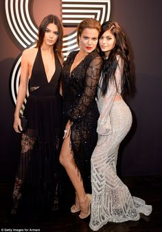 Keeping up with the kurves: Kylie jutted out her derriere in homage to sister Kim FOLLOW thatblondegirl✖️hair: style: celebrity inspiration: lookbooks: and all things beauty