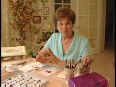 How to Paint Porcelain : Using Wipe Out Tools for Porcelain Painting