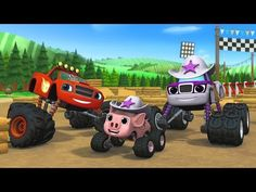 blaze and the monster machines cartoon for kid free online games best sound on amazon - Cartoon For Toddlers Free Online