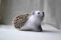 "Hedgehog of ""Cutie"". $69.00, via Etsy."