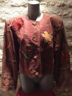 1980-90' Dino'z leather jacket. Size L. by nicevintageshop on Etsy